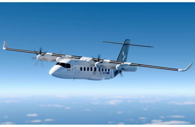 19-местные самолеты ES-19 с электродвигателями Heart Aerospace