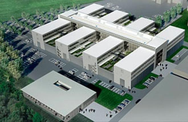 в Донауверте, Германия, началось строительство нового высокотехнологичного инт