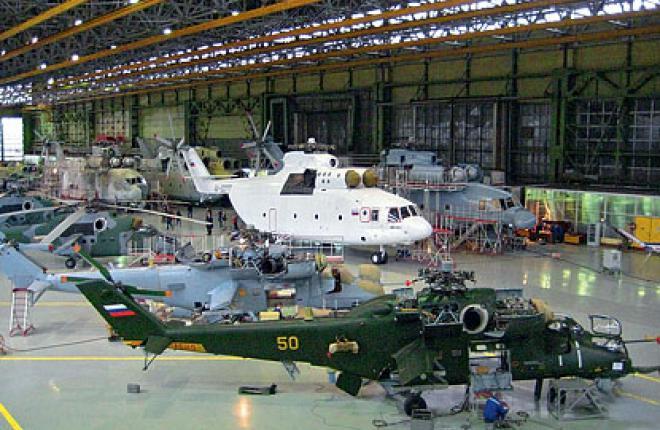 Компания «Вертолеты России» в 2011 г. планирует произвести 267 машин