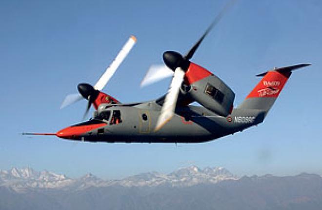 AgustaWestland гражданский конвертоплан BA609