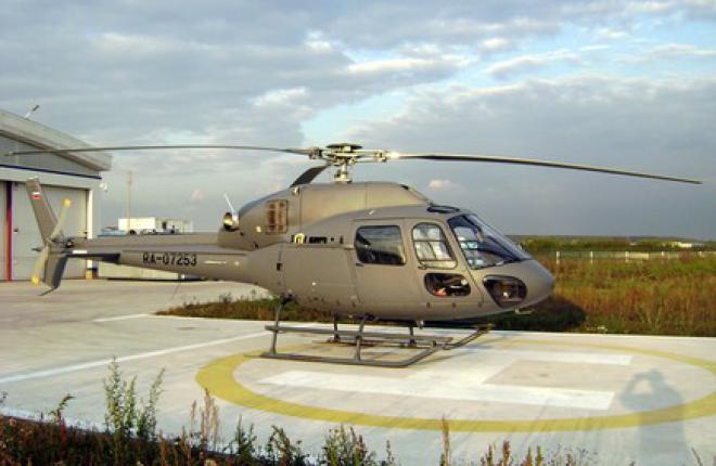 В Heli Club появился вертолет AS355 NP