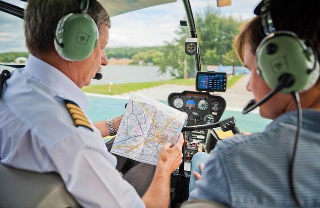 """В центре """"Хелипорт Истра"""" возобновили обучение пилотов вертолетов"""