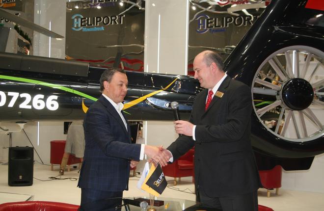 """Холдинг """"Хелипорты России"""" возьмется за обучение пилотов для Bell-505"""