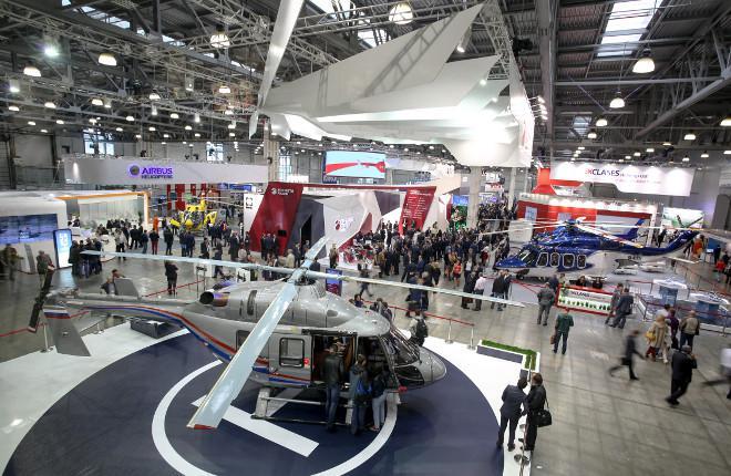 Выставка HeliRussia