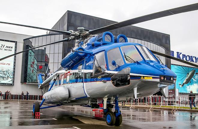 Средний многоцелевой вертолет Ми-171А2