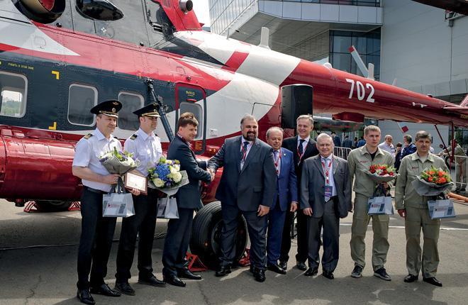 """""""ЮТэйр — Вертолетные услуги"""" получила свой первый Ми-171А2"""