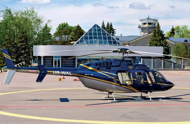 Из-за плохих политических отношений парк вертолетов украинских операторов будет развиваться за счет нероссийской авиатехники :: Павел Капустин