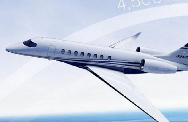 Cessna Aircraft анонсировала новый бизнес-джет семейства Citation
