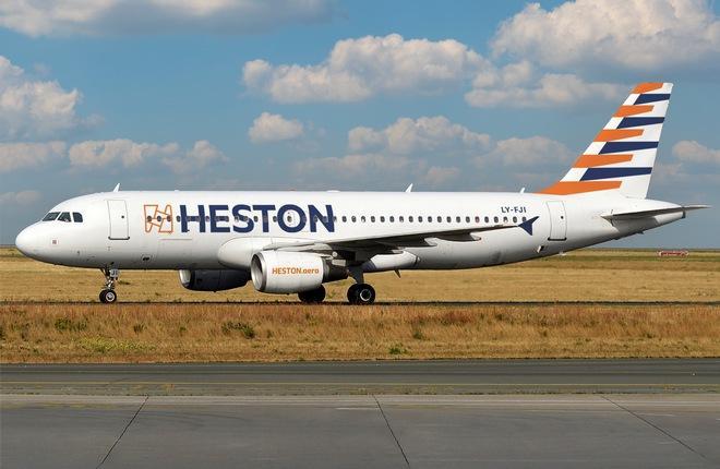 самолет Airbus A320 Heston