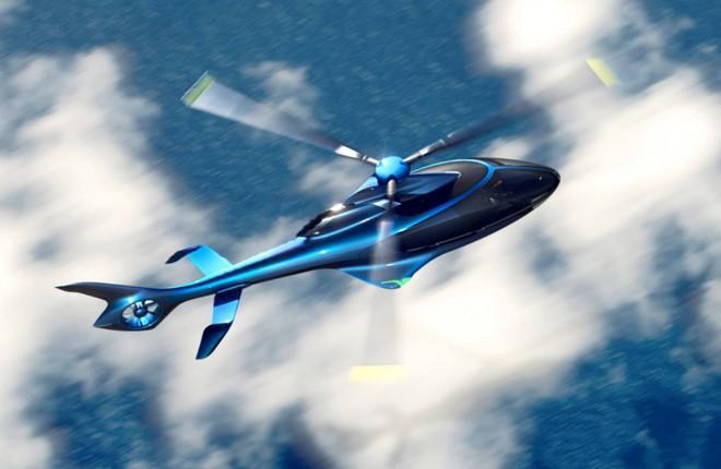 вертолет премиум-класса Hill Helicopters НХ50