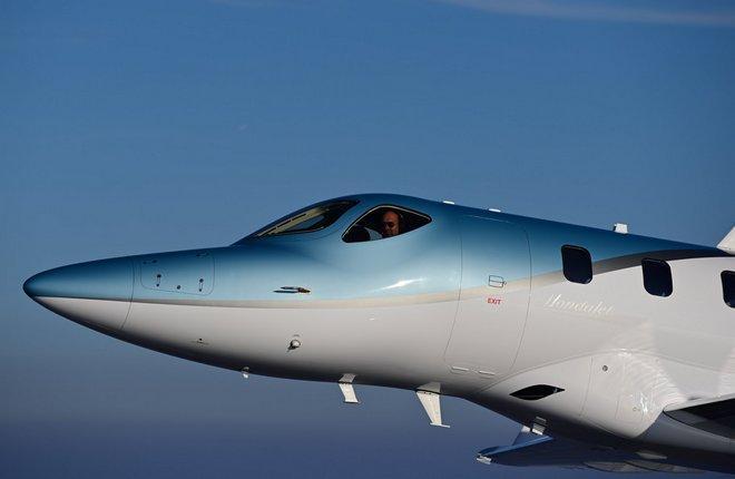 самолет HondaJet