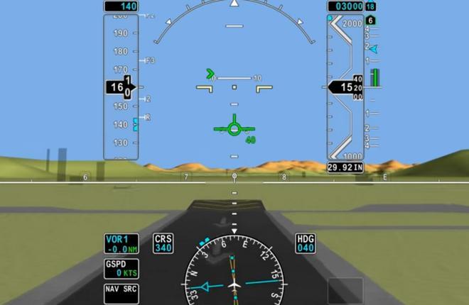 Экран системы Honeywell SmartView