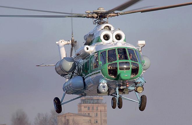 В результате ремонта ресурс вертолетов увеличен на 8 лет