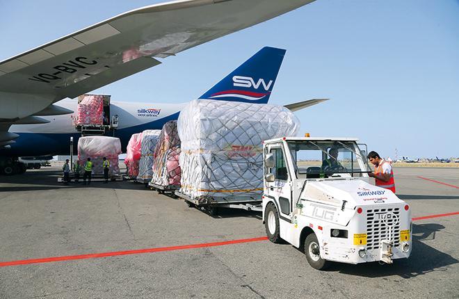 За пять лет доходы авиакомпаний от грузовых перевозок сократились более чем на 20%