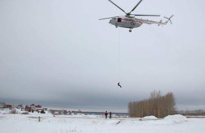 Татарстанское МЧС купит один вертолет Ми-8АМТ