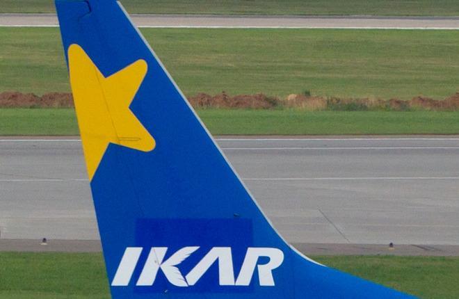 """Логотип авиакомпании """"Икар"""""""