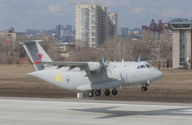 Ил-112В возобновил программу летных испытаний после двухлетнего перерыва