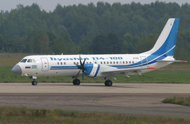 Самолет Ил-114-100