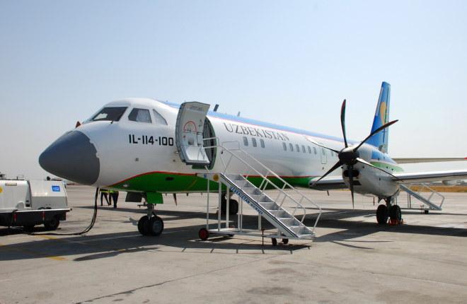 Авиакомпания Uzbekistan Airways откажется от эксплуатации самолетов Ил-114-100