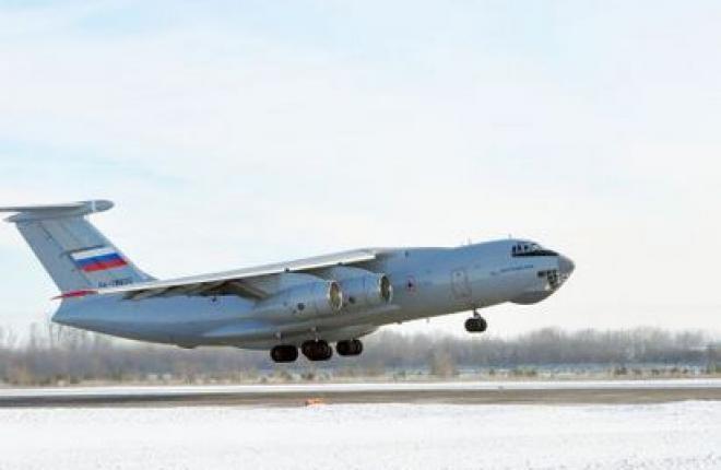 ОАК представит на МАКС-2013 военно-транспортный самолет Ил-76МД-90А