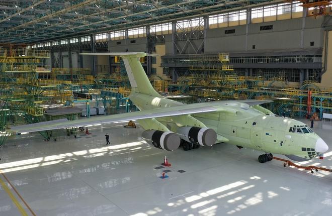 Первый самолет Ил-76МД-90А, собранный на новой технологии на ульяновском «Авиастар-СП»  передан на испытания