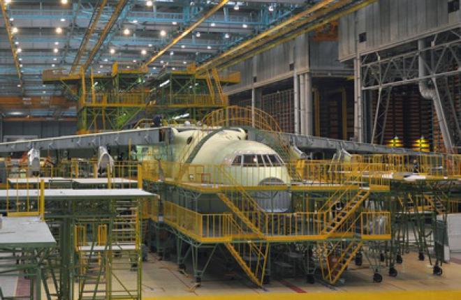 Первый серийный Ил-76МД-90А готовится к передаче в производство окончательной сб