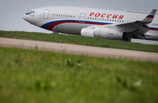 """Самолет Ил-96 СЛО """"Россия"""""""