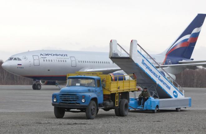 Пассажиропоток российских авиакомпаний в январе–марте 2014 года возрос на 9,7%, но темпы росты стремительно сокращаются :: Леонид Фаерберг / Trasport photo
