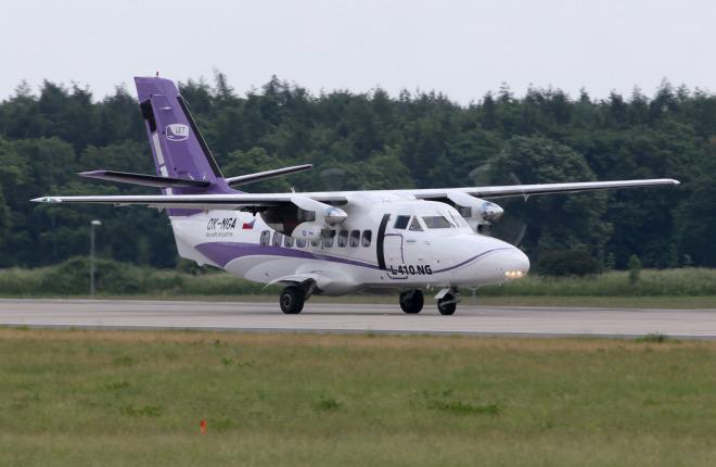 Прототип самолета L-410NG налетал более 300 часов