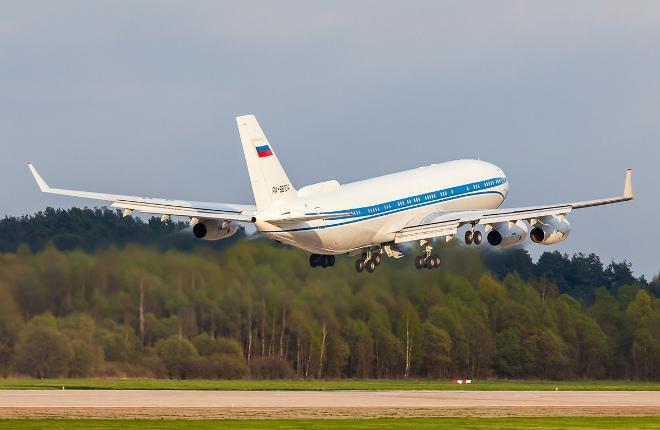 Самолет Ил-96-400ВПУ