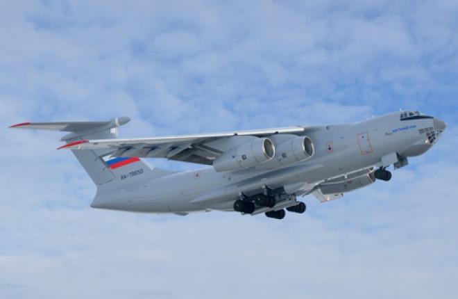 Самолет Ил-76МД-90А выполнил третий полет по программе госиспытаний Минобороны