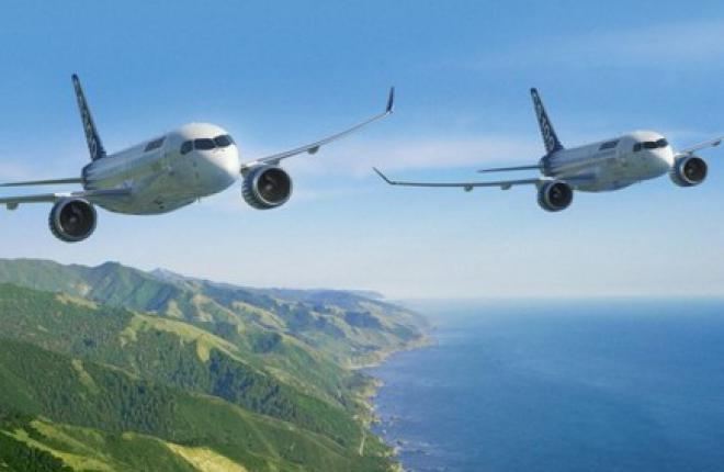 Правительство Квебека спасает самолет Bombardier CSeries