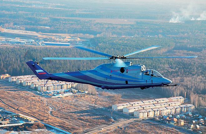 """Первый полет летающей лаборатории перспективного скоростного вертолета на базе Ми-24 состоялся в конце 2015 года :: """"Вертолеты России"""""""