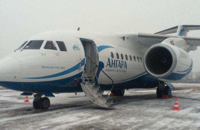 """Авиакомпания """"Ангара"""" получила первый Ан-148"""