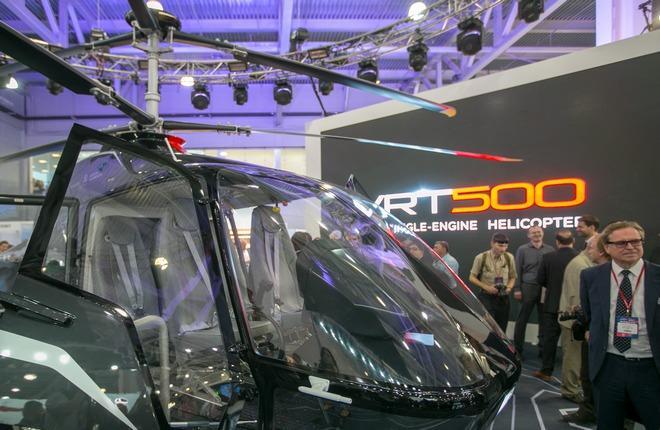 Вертолет VRT500 приступил к аэродинамическим испытаниям