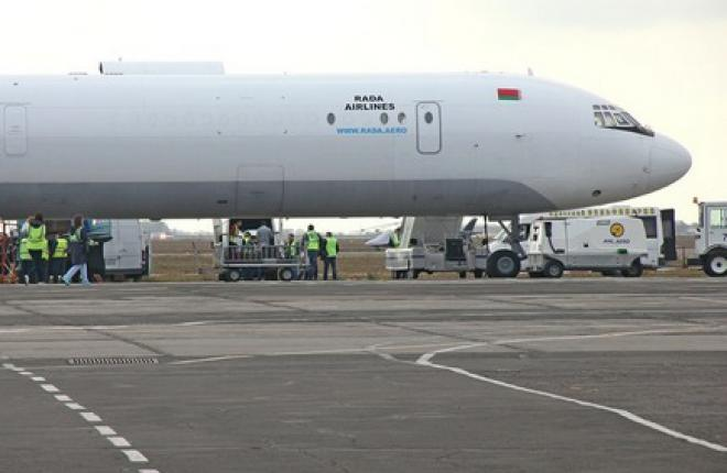 Новый белорусский грузоперевозчик Rada Airlines начал полеты на Ил-62