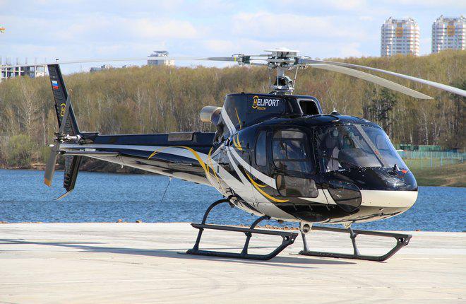 """Центру """"Хелипорт Истра"""" разрешили обслуживать вертолеты AS350 B2"""
