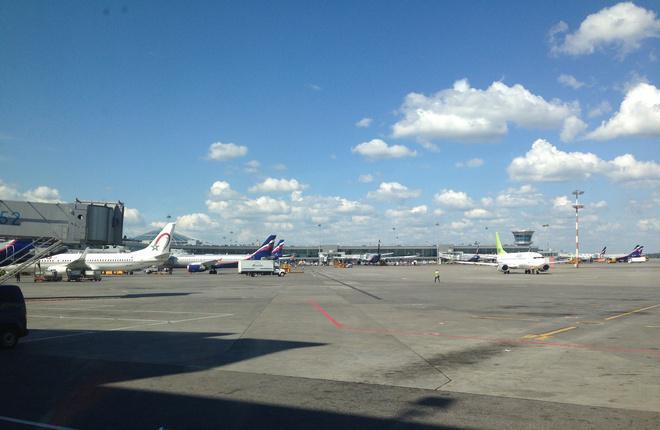 Из трех аэропортов Москвы пассажиропоток вырос только у Шереметьево