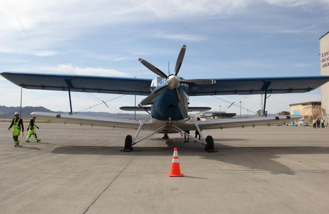 В Монголии повредили демонстрационный самолет ТВС-2МС