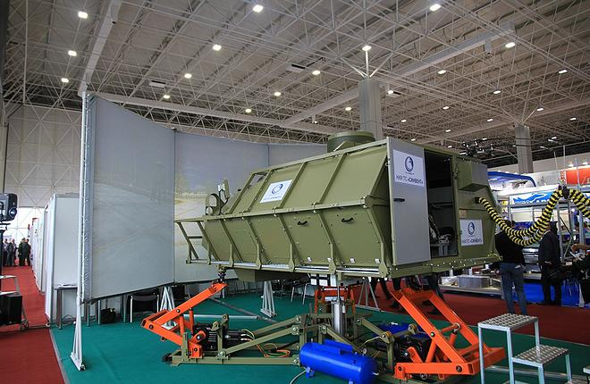 Simulator for Typhoon-M at Army 2016 (Mikhail Zherdev)