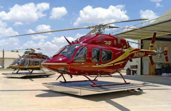 С платформой HeliWagon вертолет можно быстро развернуть в любом направлении