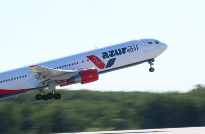 Российская авиакомпания Azur Air получила пятый самолет Boeing 767-300