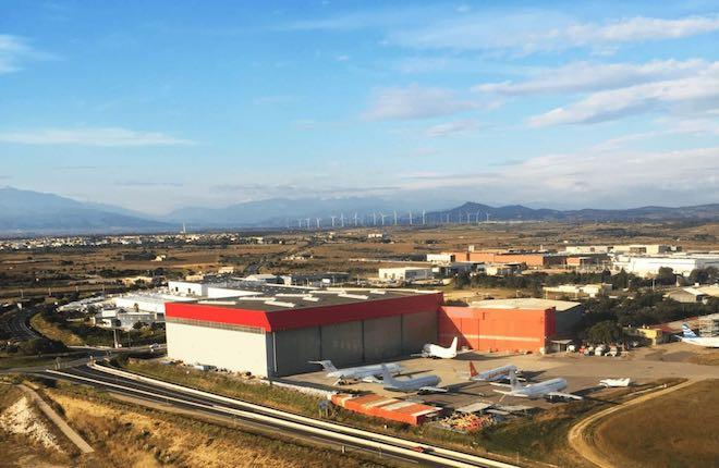 Производственная база в Перпиньяне