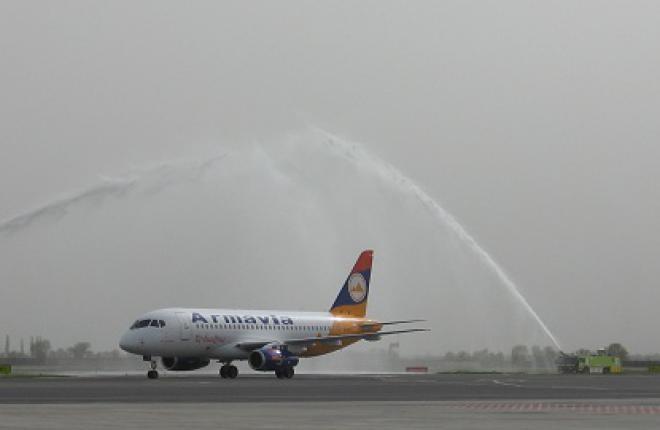 Sukhoi Superjet 100 выполнит первый коммерческий рейс 20 апреля