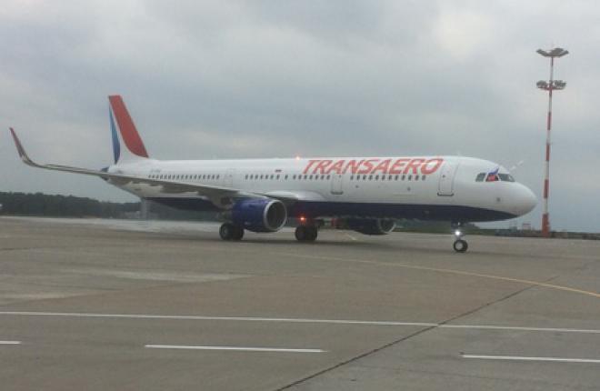 """""""Трансаэро"""" получила первый в своем парке самолет Airbus"""