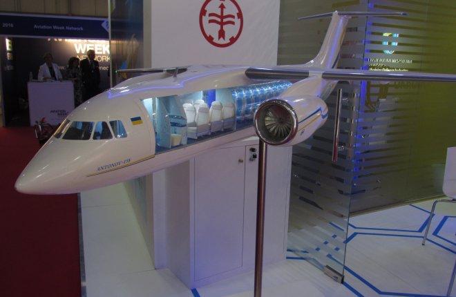 Украинские самолеты Ан-148/158 избавят от российских комплектующих к 2020 году