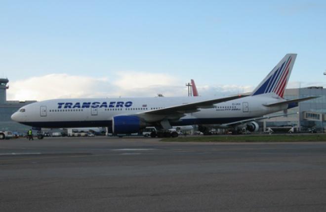 Авиакомпания «Трансаэро» получила два самолета Boeing 747-400 и Boeing 777-200
