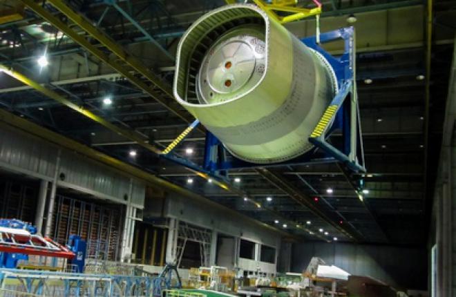 Собран первый отсек фюзеляжа самолета МС-21
