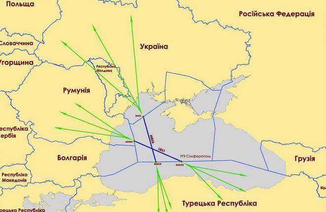 Росавиация сочла разрешение EASA летать рядом с Крымом неуместным