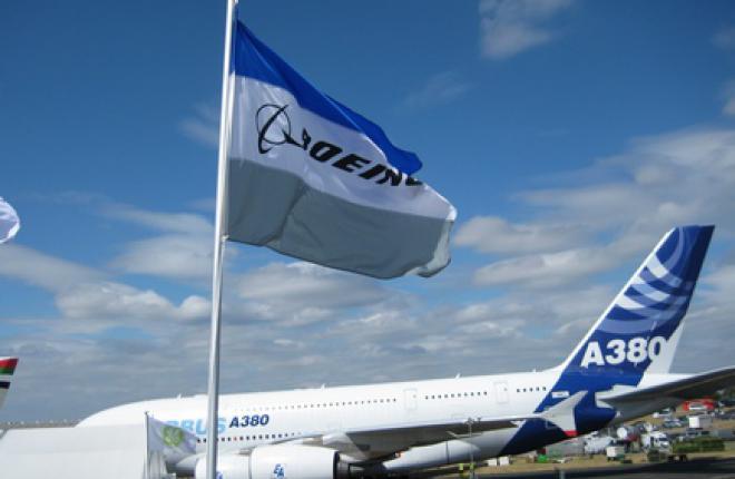 В феврале Airbus обогнал Boeing по количеству заказов